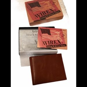 Leather wallet New in Box
